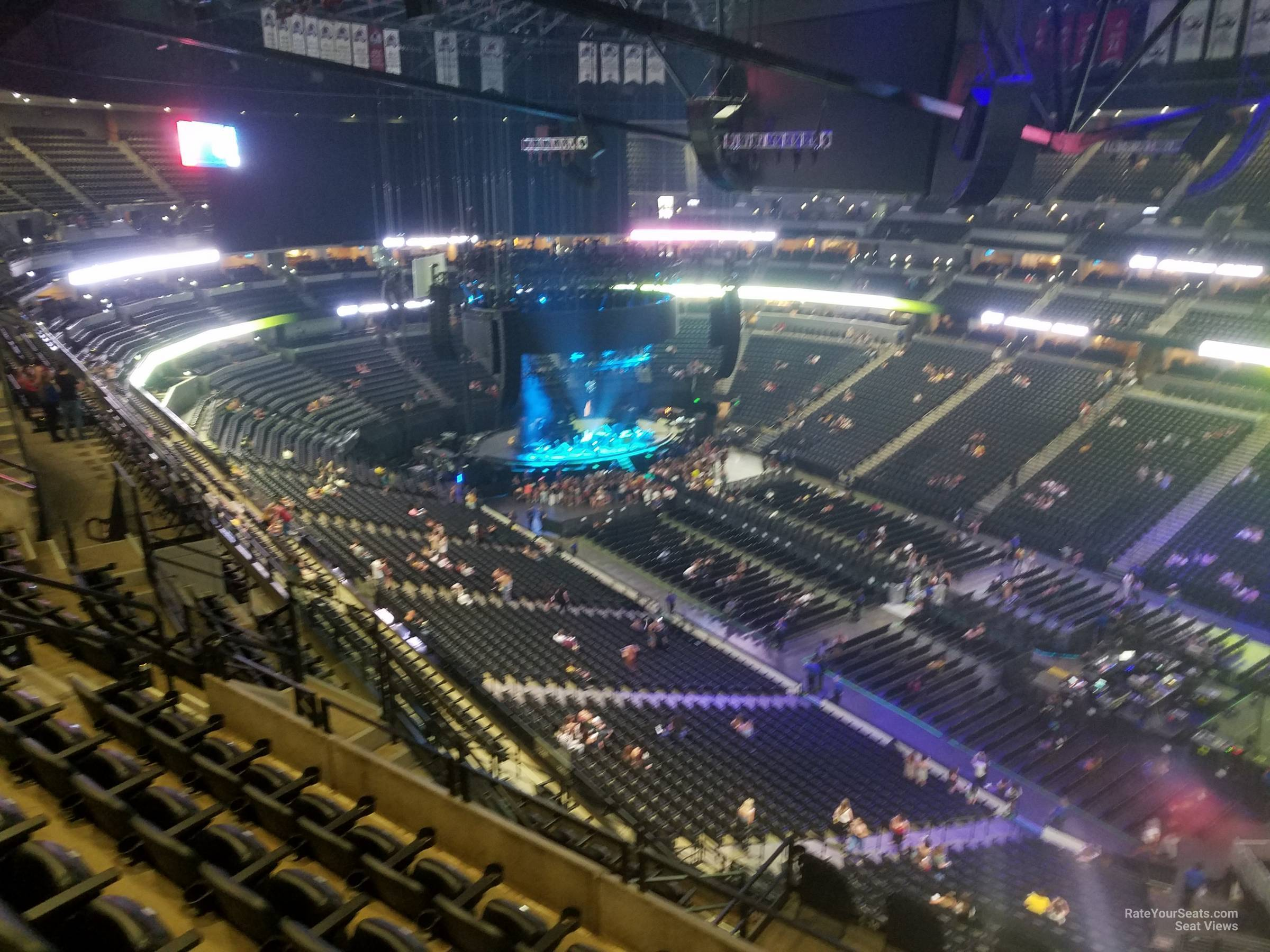 Section 334 At Pepsi Center For Concerts Rateyourseats Com