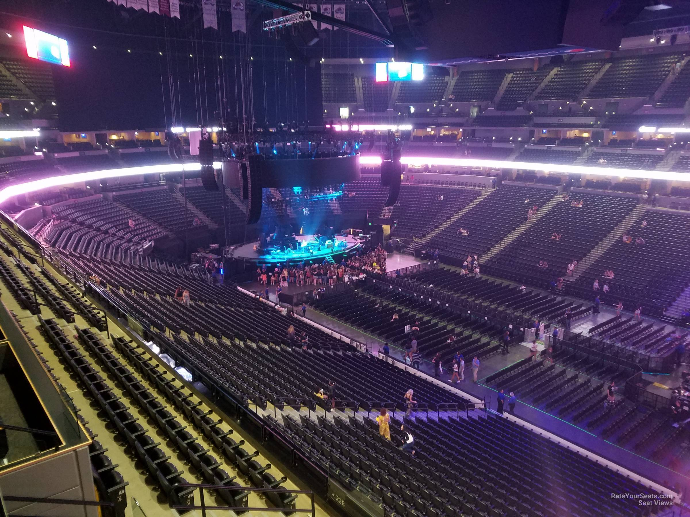 Section 335 At Pepsi Center For Concerts Rateyourseats Com