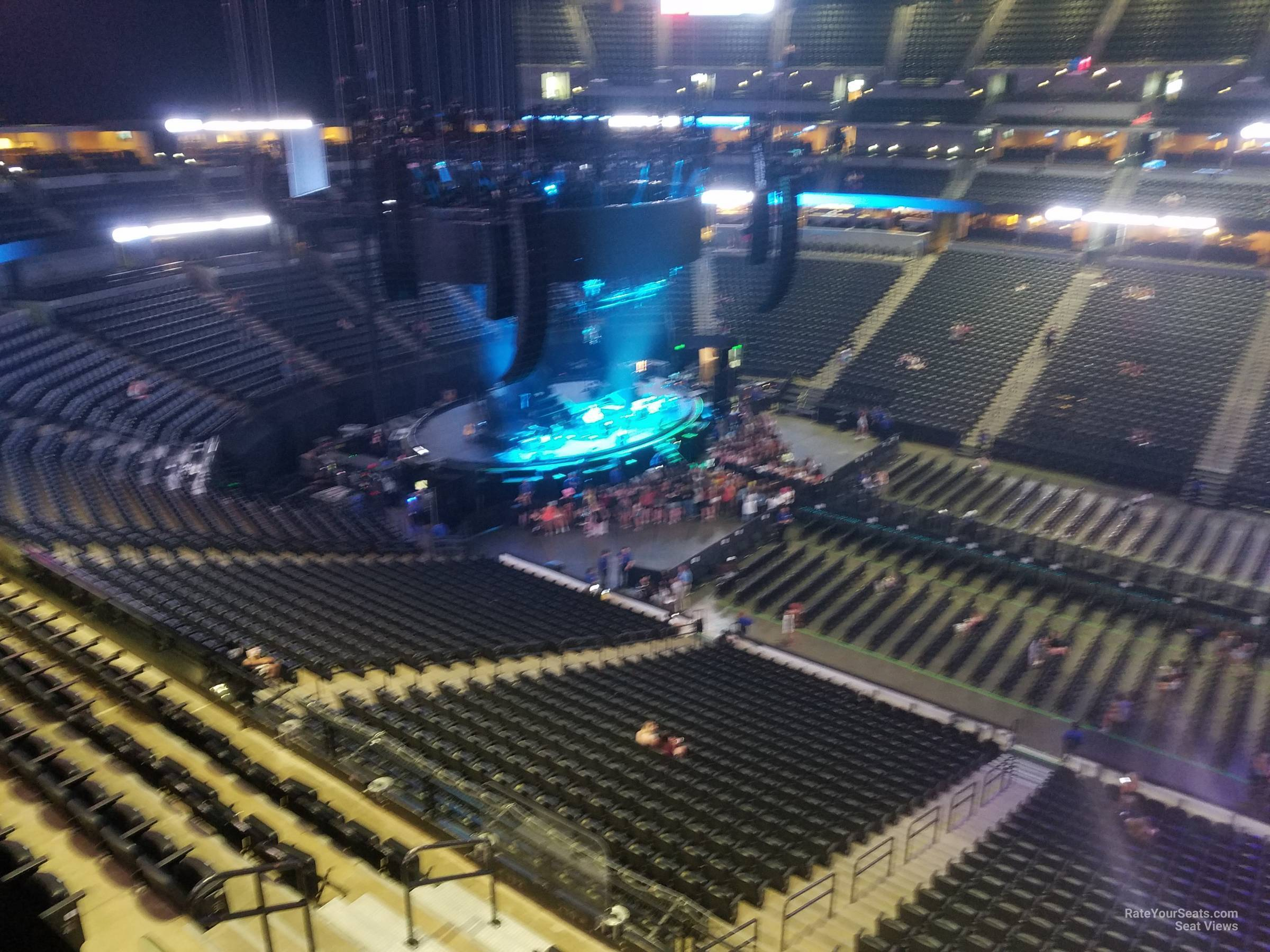 Pepsi Center Section 341 Concert Seating Rateyourseatscom