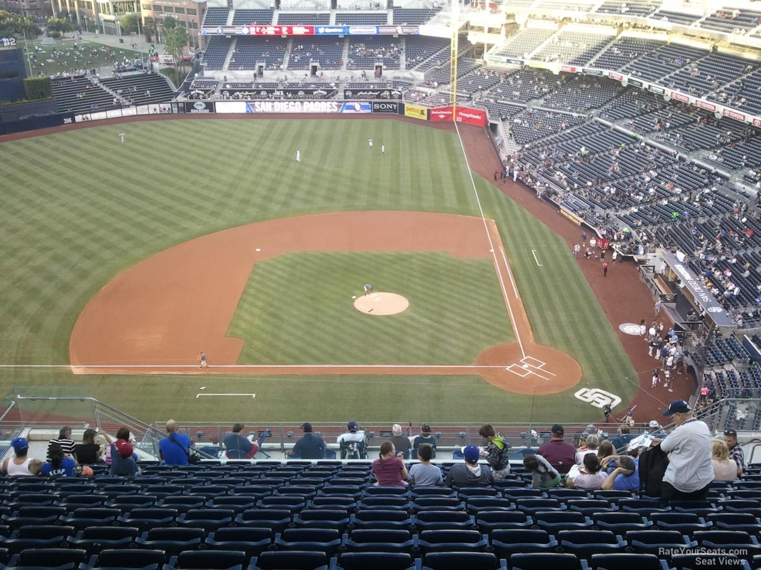 San Go Padres Petco Park Seating