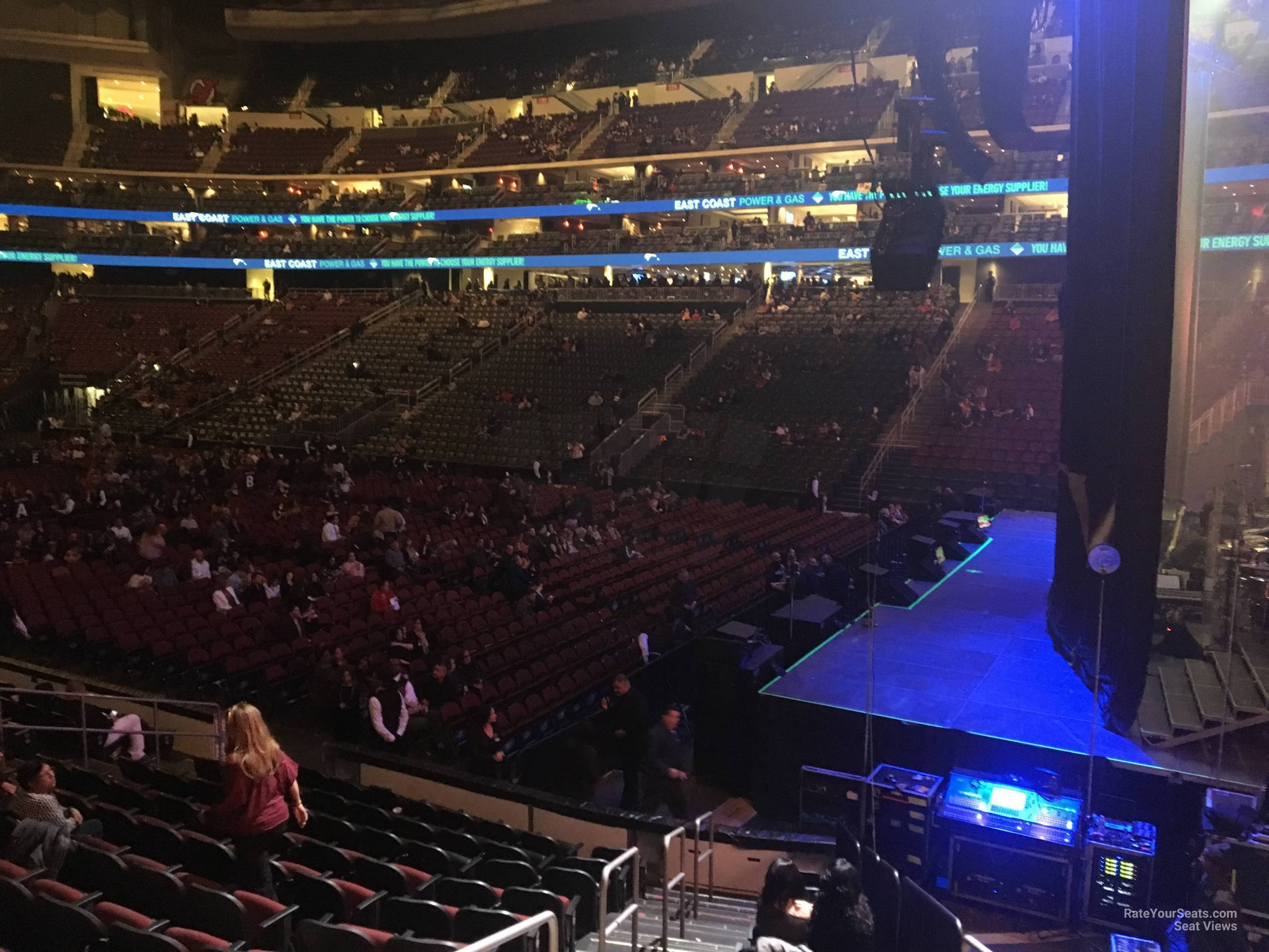 Prudential Center Section 11 Concert Seating ...