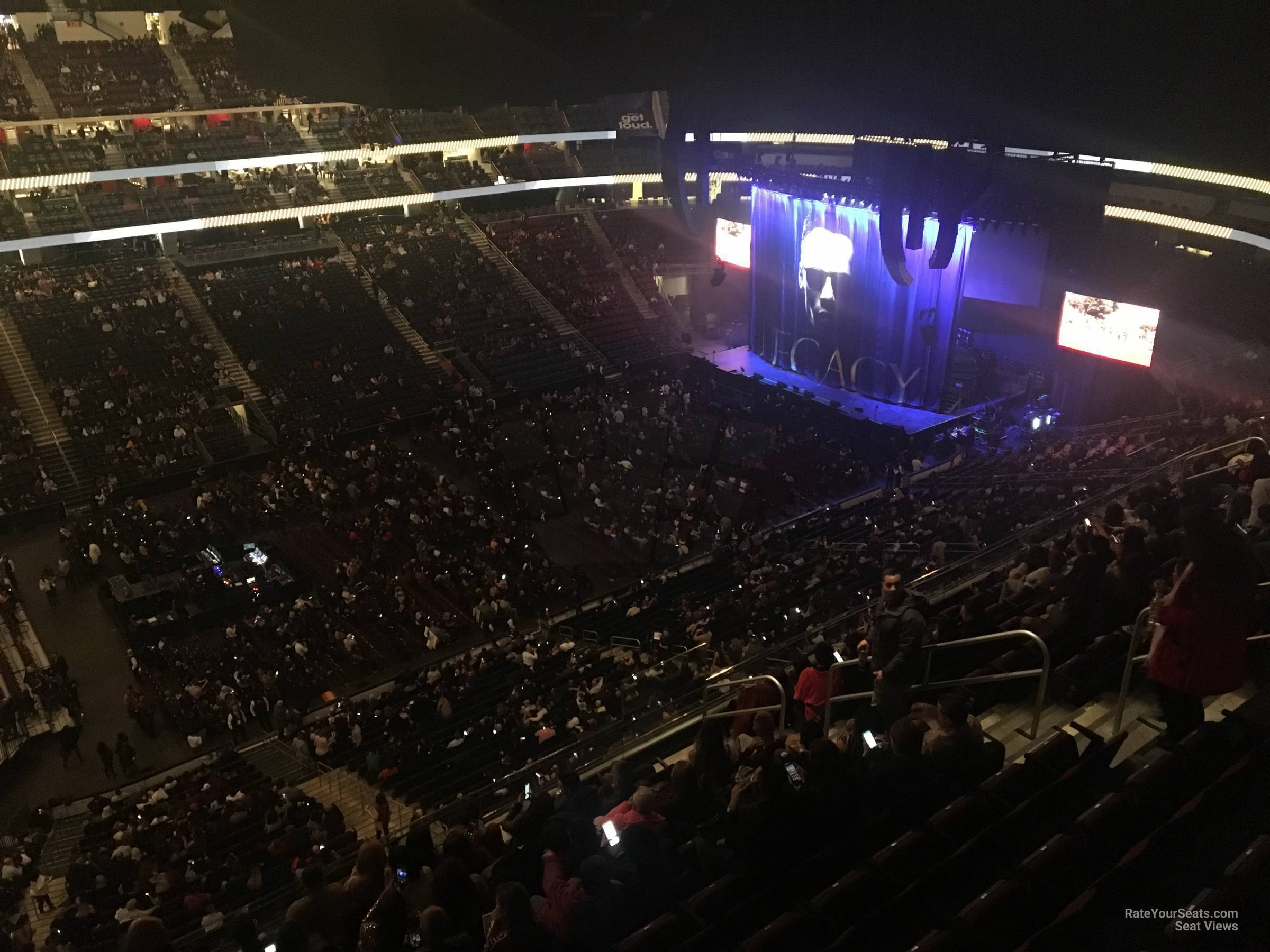 Prudential Center Section 209 Concert Seating
