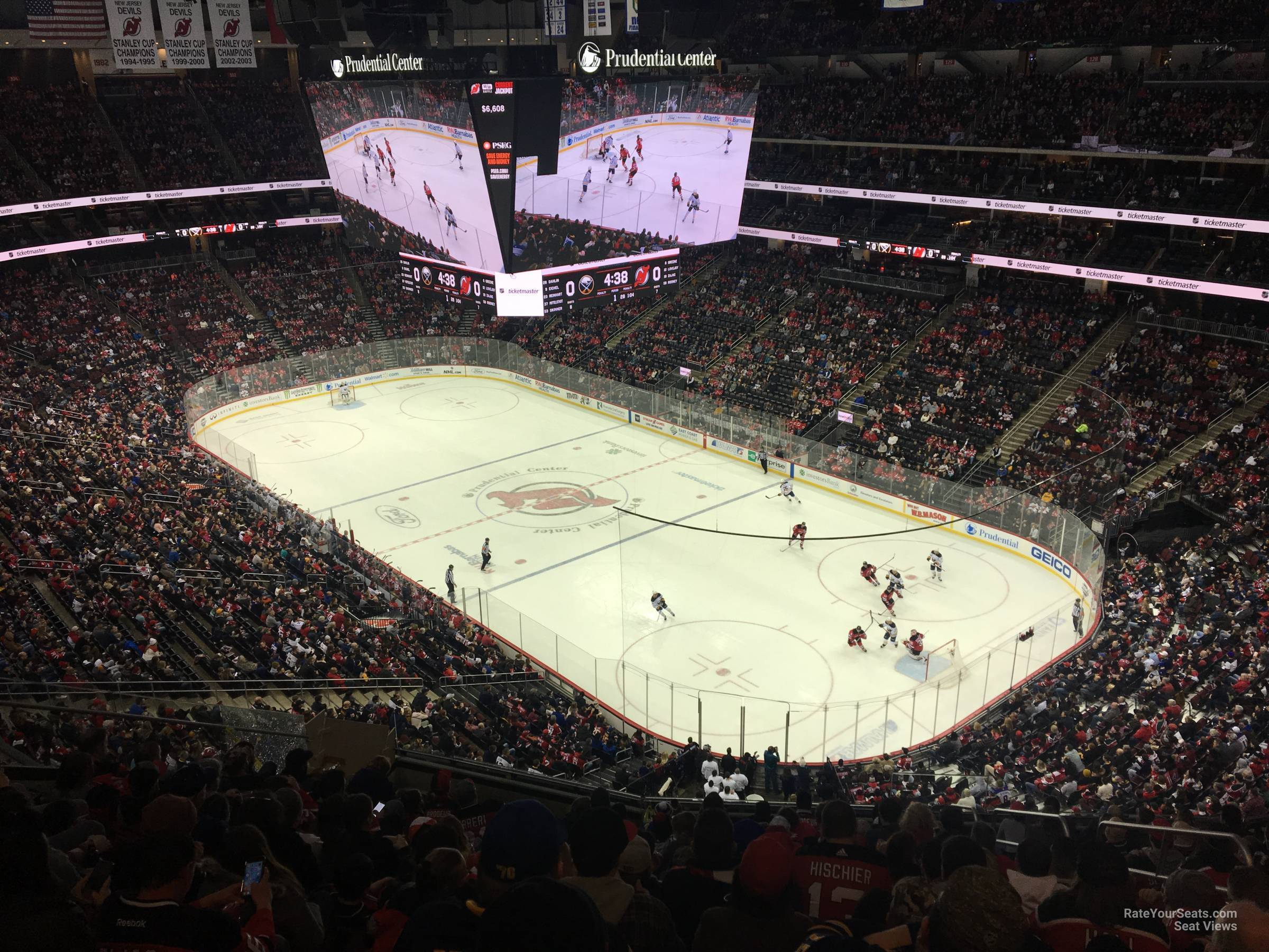 Prudential Center Section 116 New Jersey Devils