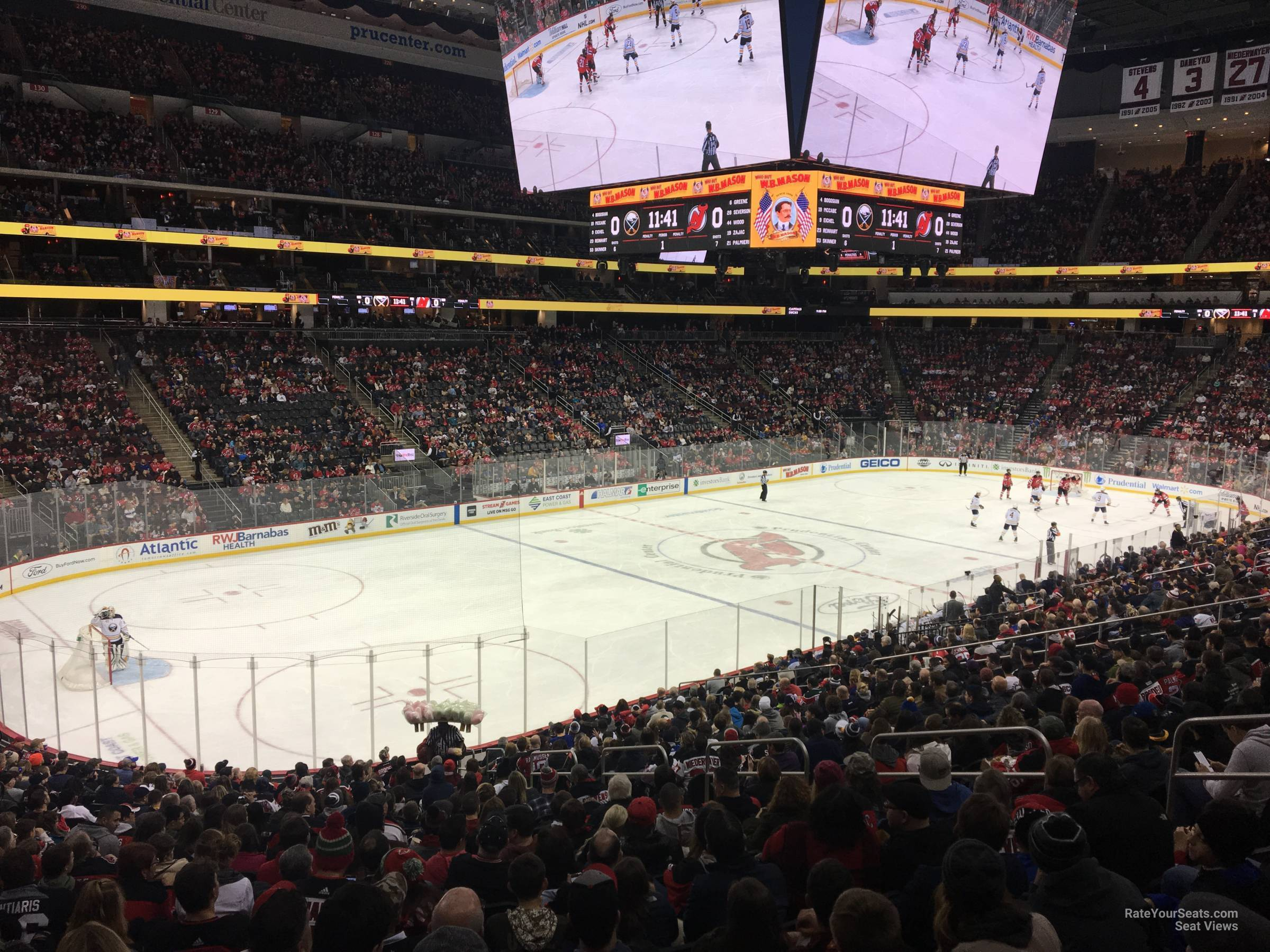 New Jersey Devils Seat View for Prudential Center Section 5, Row 24