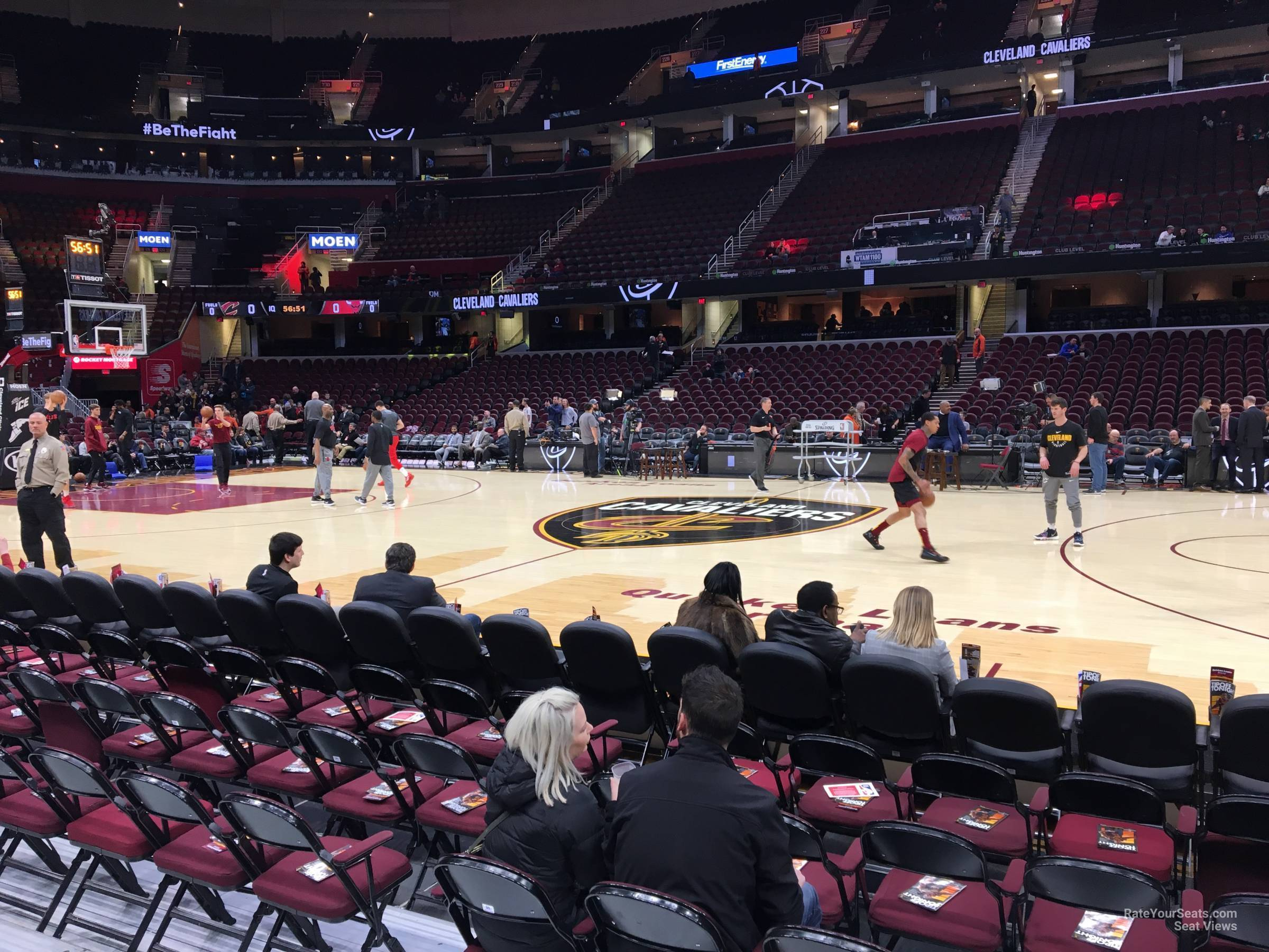 Rocket Mortgage Fieldhouse Floor 20 Cleveland Cavaliers