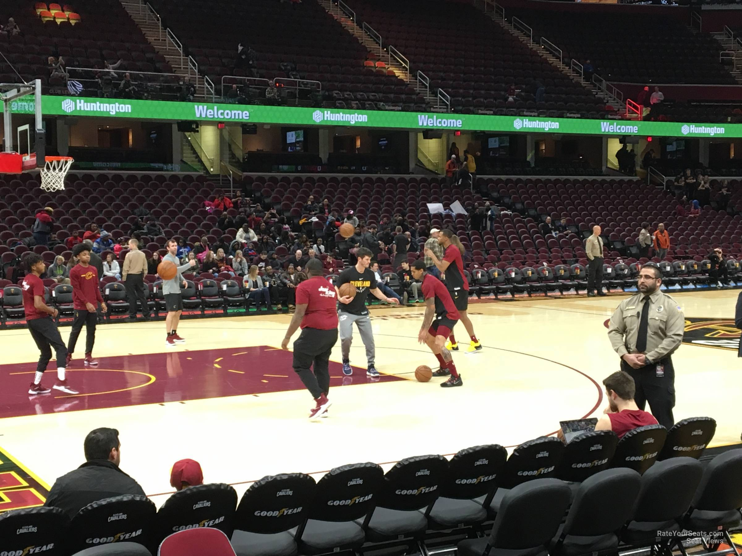 Rocket Mortgage Fieldhouse Floor 9 Cleveland Cavaliers