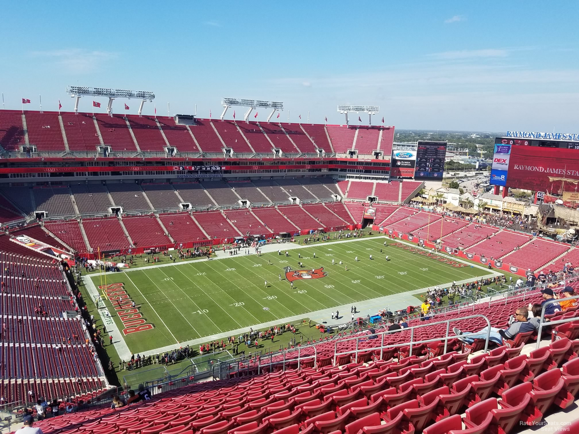 section 330 at raymond james stadium tampa bay buccaneers rateyourseats com section 330 at raymond james stadium