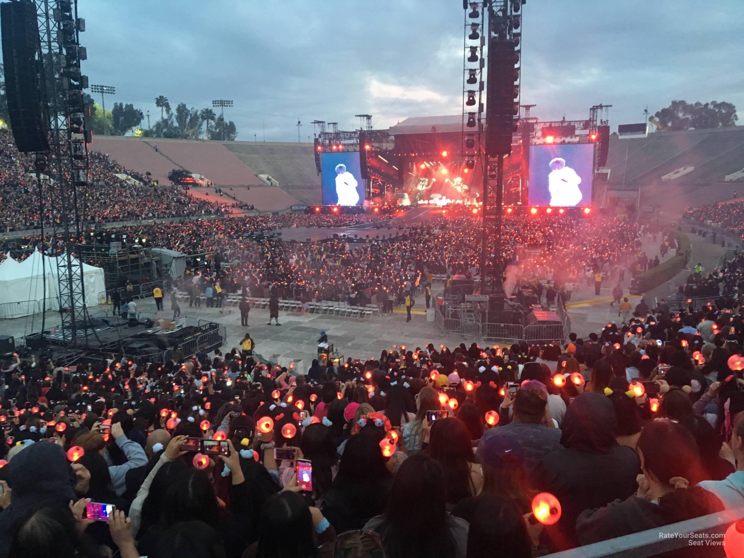 Rose Bowl Stadium Section 14 Concert Seating Rateyourseatscom