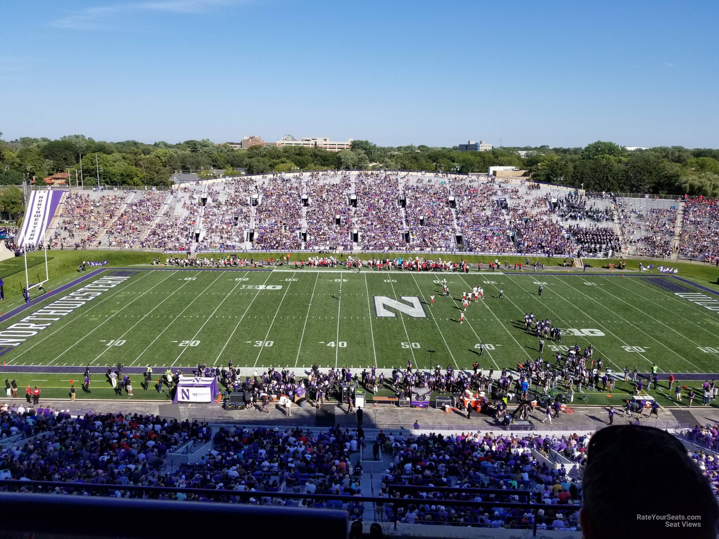 Seat View for Ryan Field Section 230, Row 30