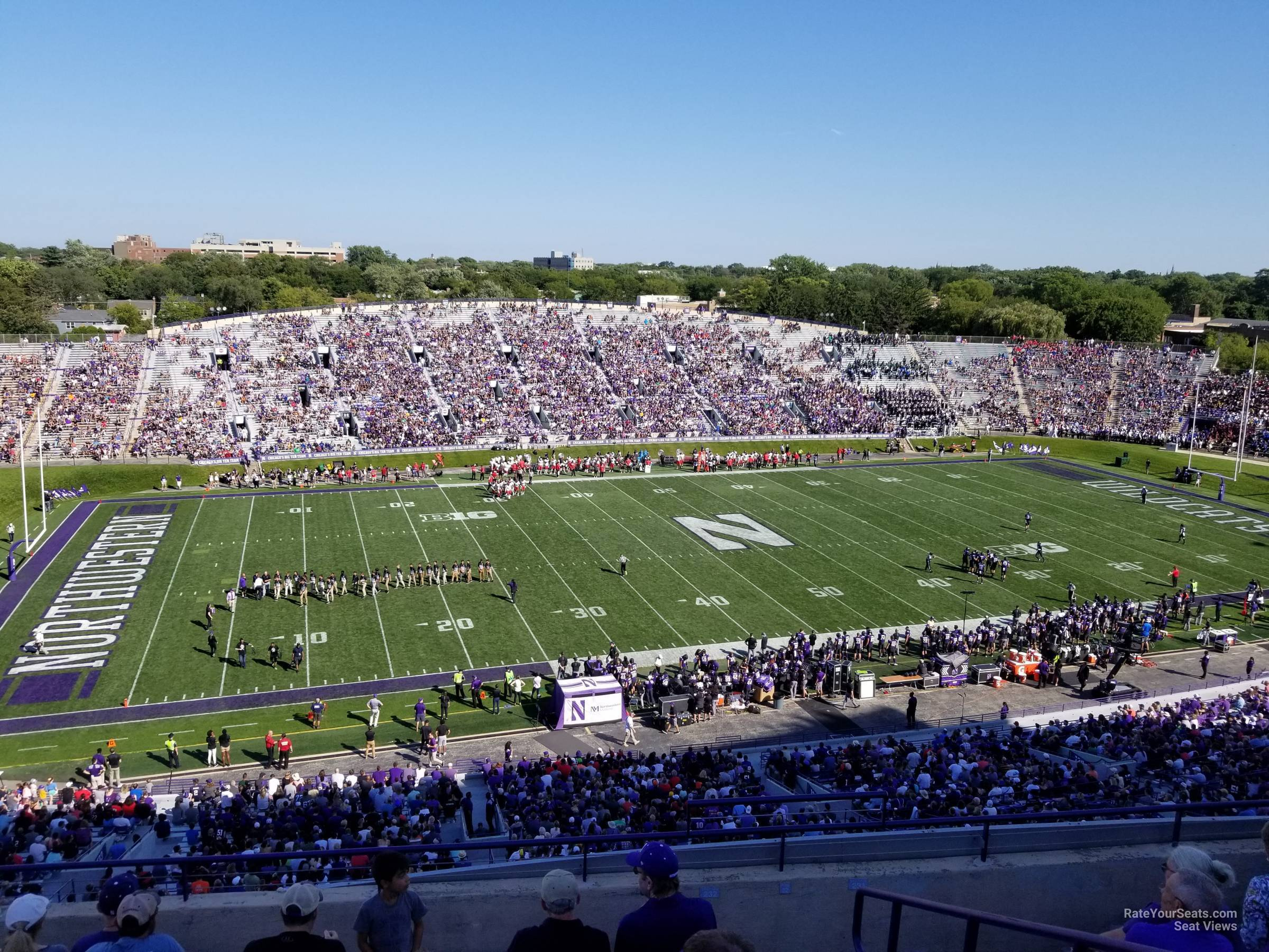 Seat View for Ryan Field Section 232, Row 23