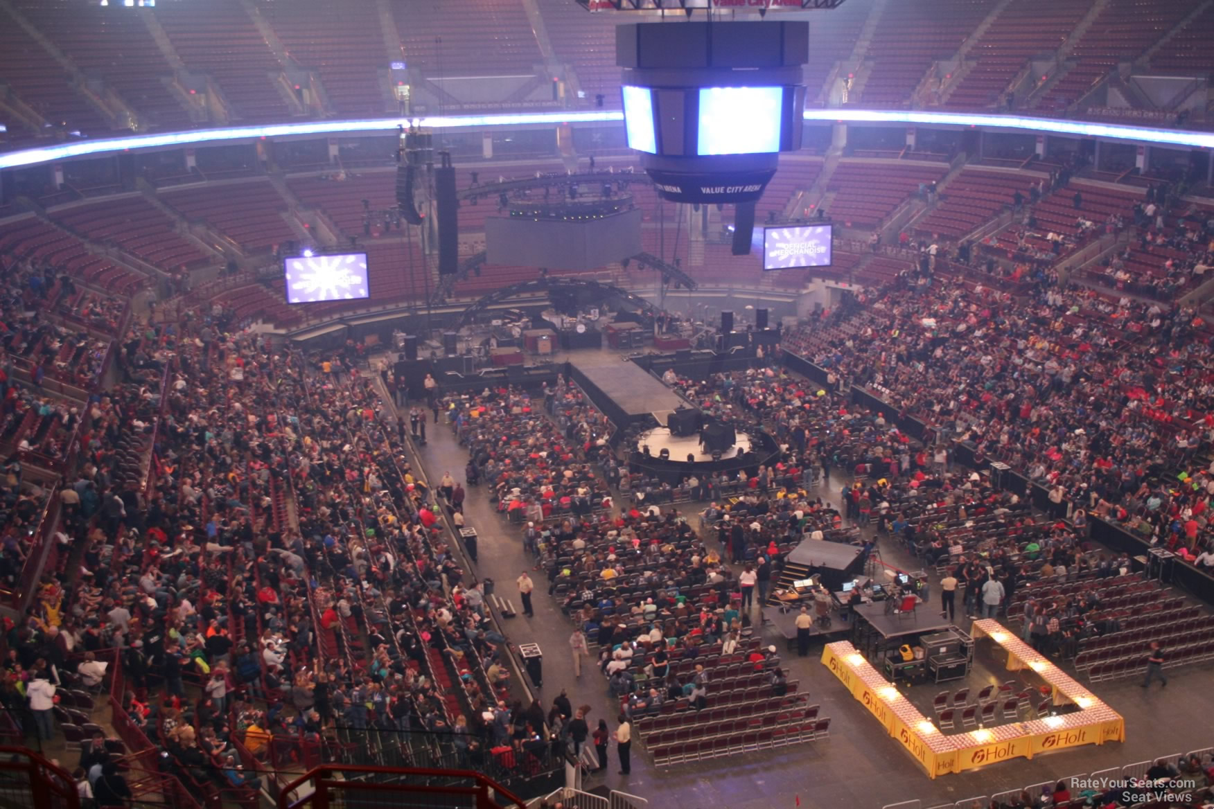 Section 333 Concert Seating