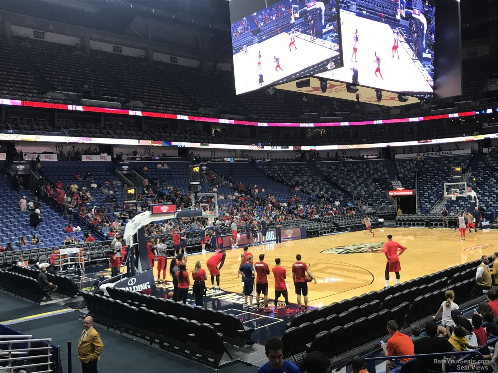 Smoothie King Center Section 103 New Orleans Pelicans