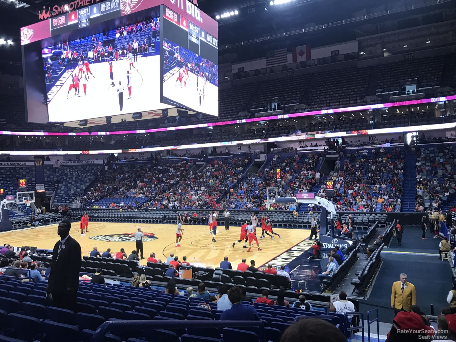 Smoothie King Center Section 111 New Orleans Pelicans