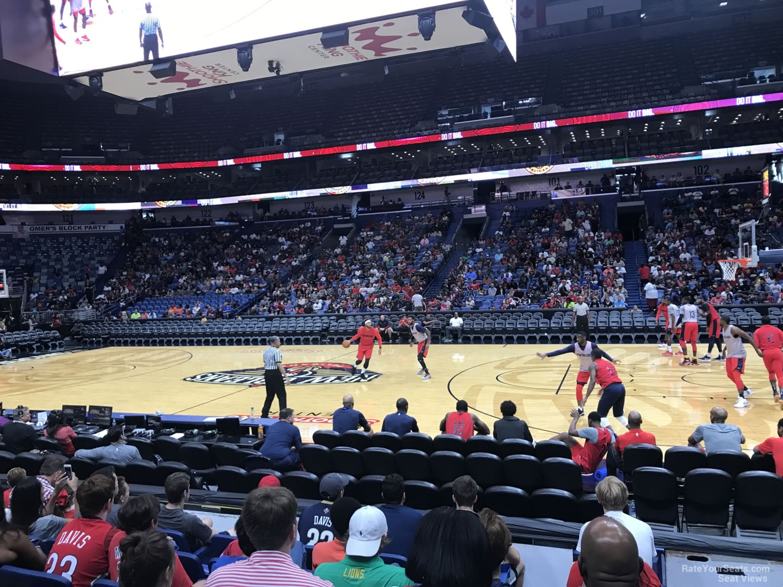 Smoothie King Center Section 112 New Orleans Pelicans