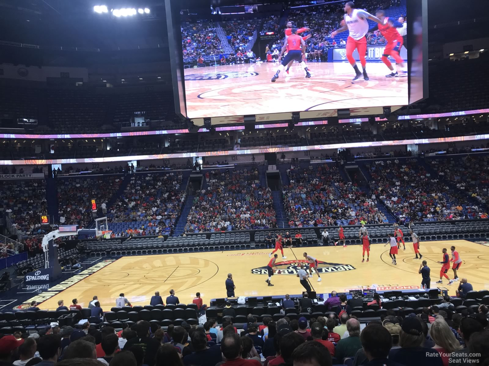 Smoothie King Center Section 113 New Orleans Pelicans