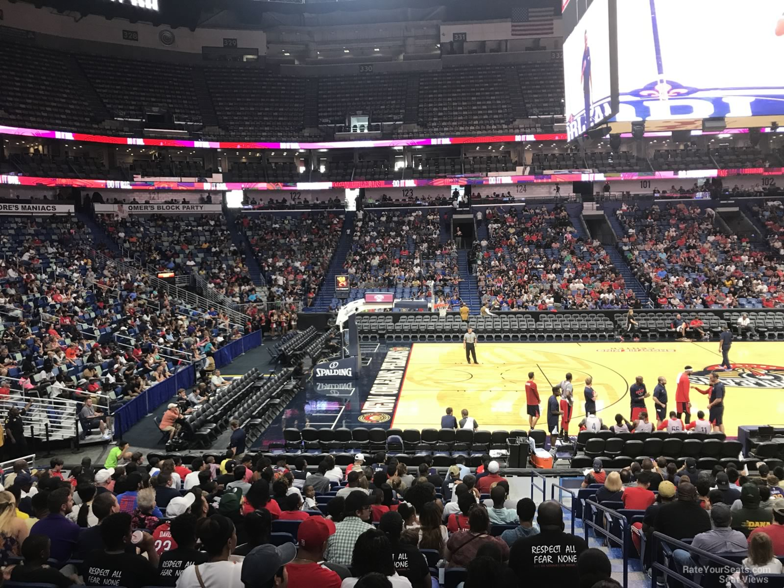 Smoothie King Center Section 114 New Orleans Pelicans