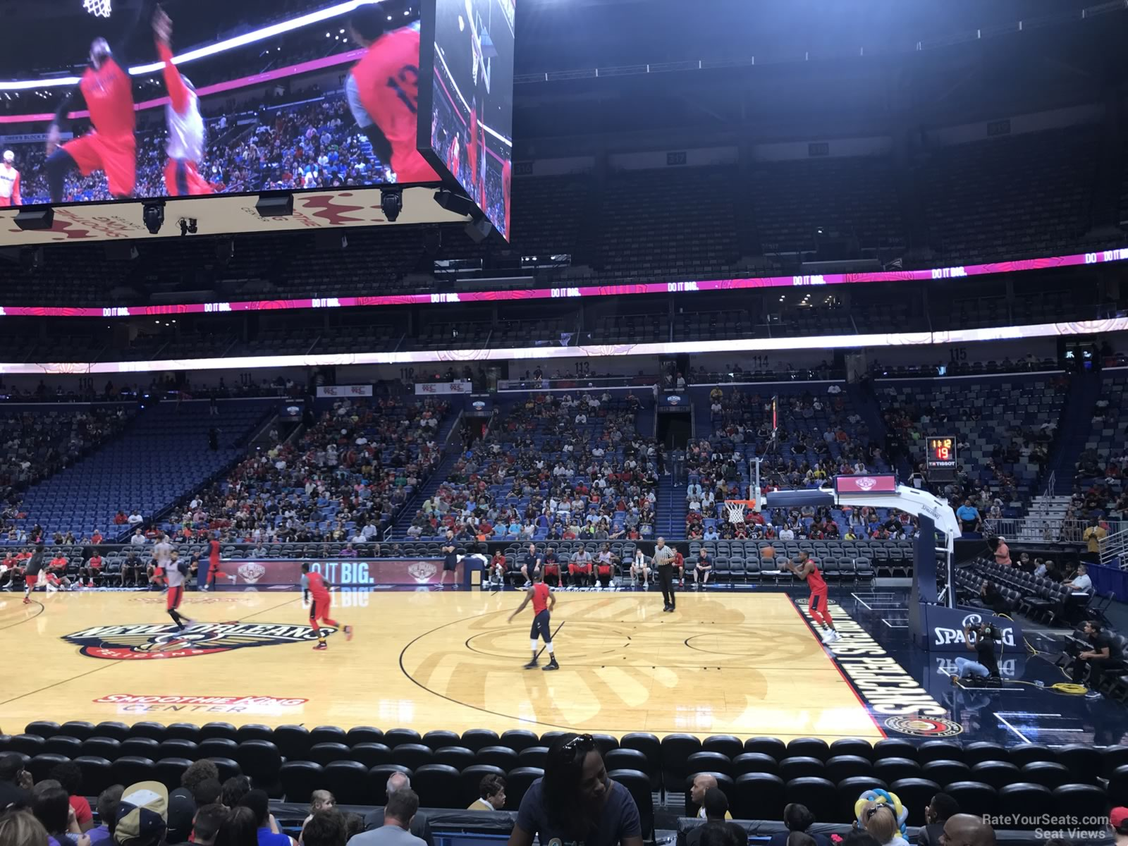 Smoothie King Center Section 123 New Orleans Pelicans