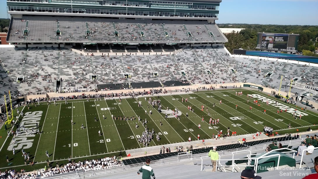 Spartan Stadium Section 110 - RateYourSeats.com