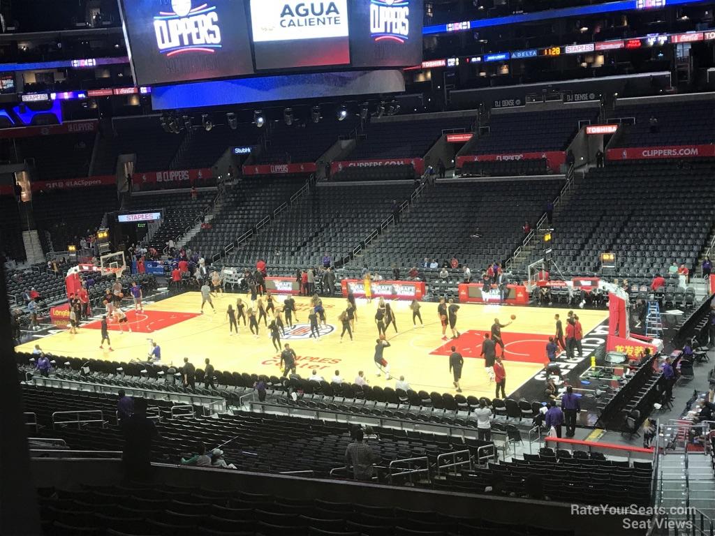Staples Center Premier 12 Clippers