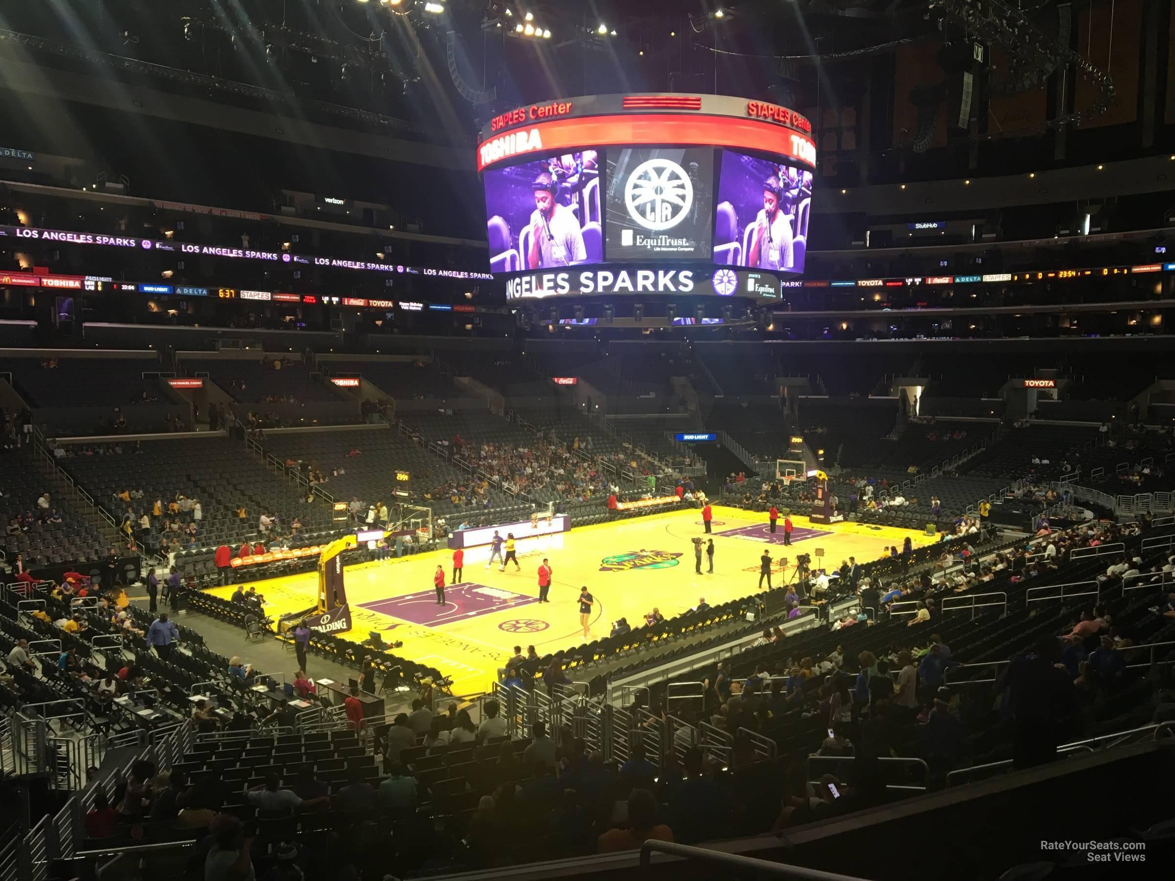 Staples Center Premier 18 Clippers