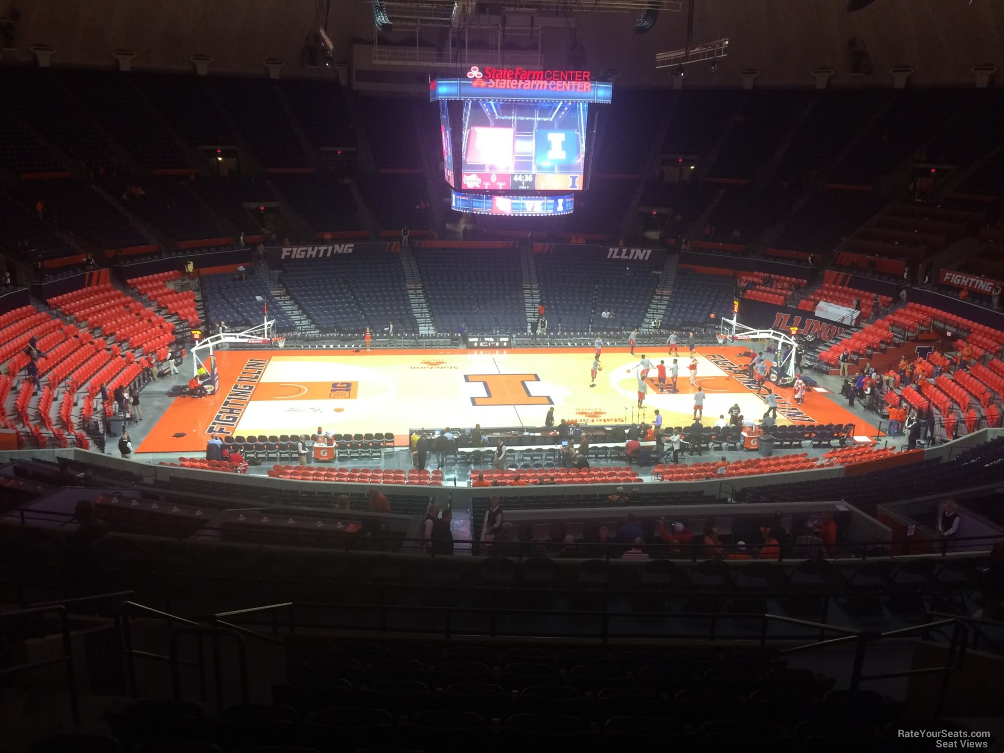Seat View for State Farm Center Section 226, Row 10