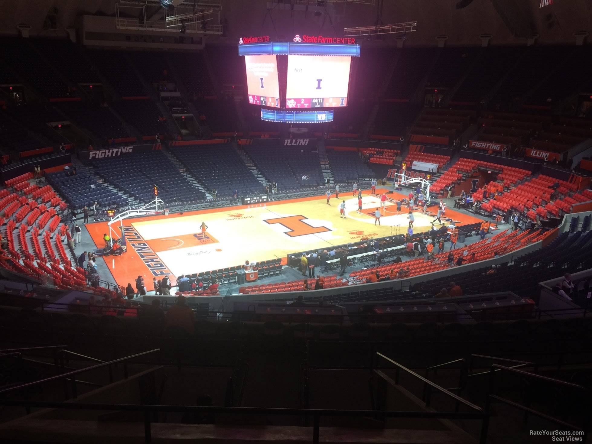 Seat View for State Farm Center Section 229, Row 10
