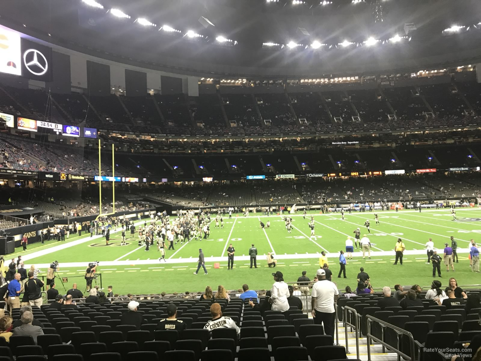 Superdome Section 121 New Orleans Saints Rateyourseats Com