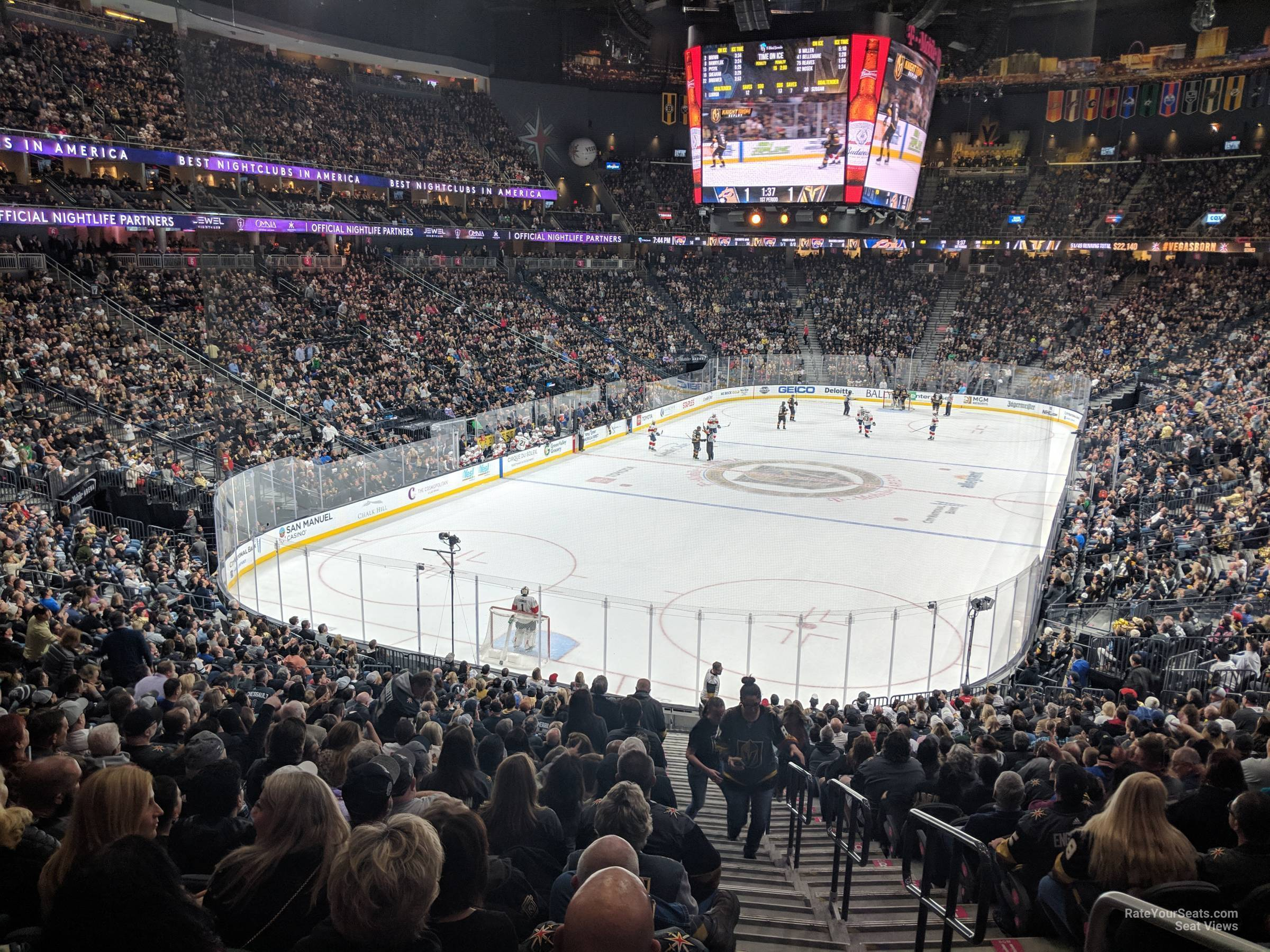 Section 11 At T Mobile Arena Vegas Golden Knights Rateyourseats Com