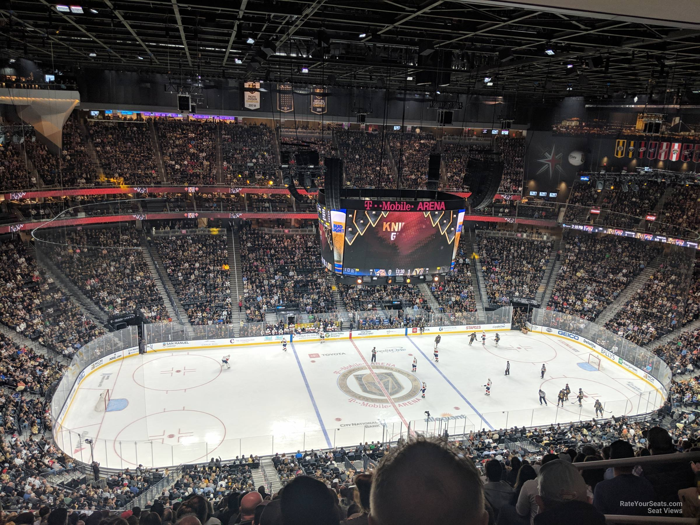 Section 221 At T Mobile Arena Vegas Golden Knights