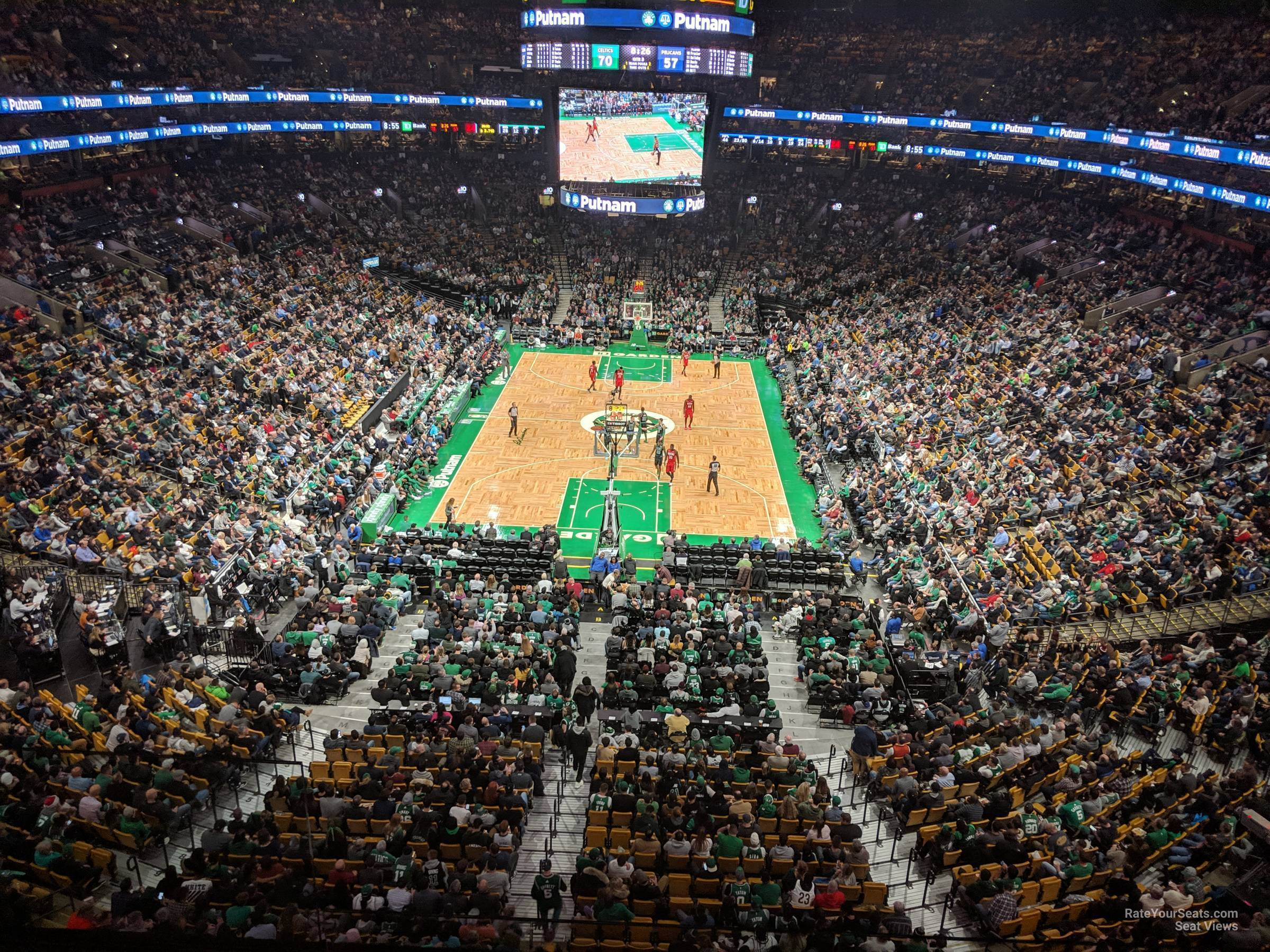 Td Garden Section 323 Boston Celtics Rateyourseats Com