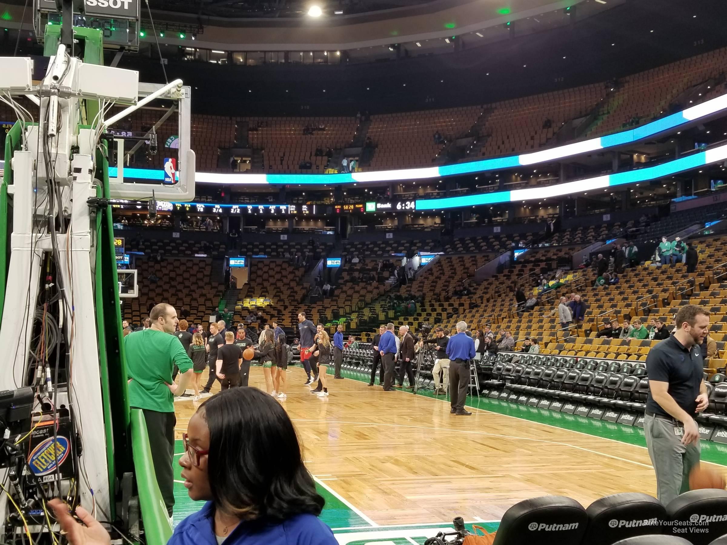 Td Garden Floor 18 Boston Celtics Rateyourseats Com