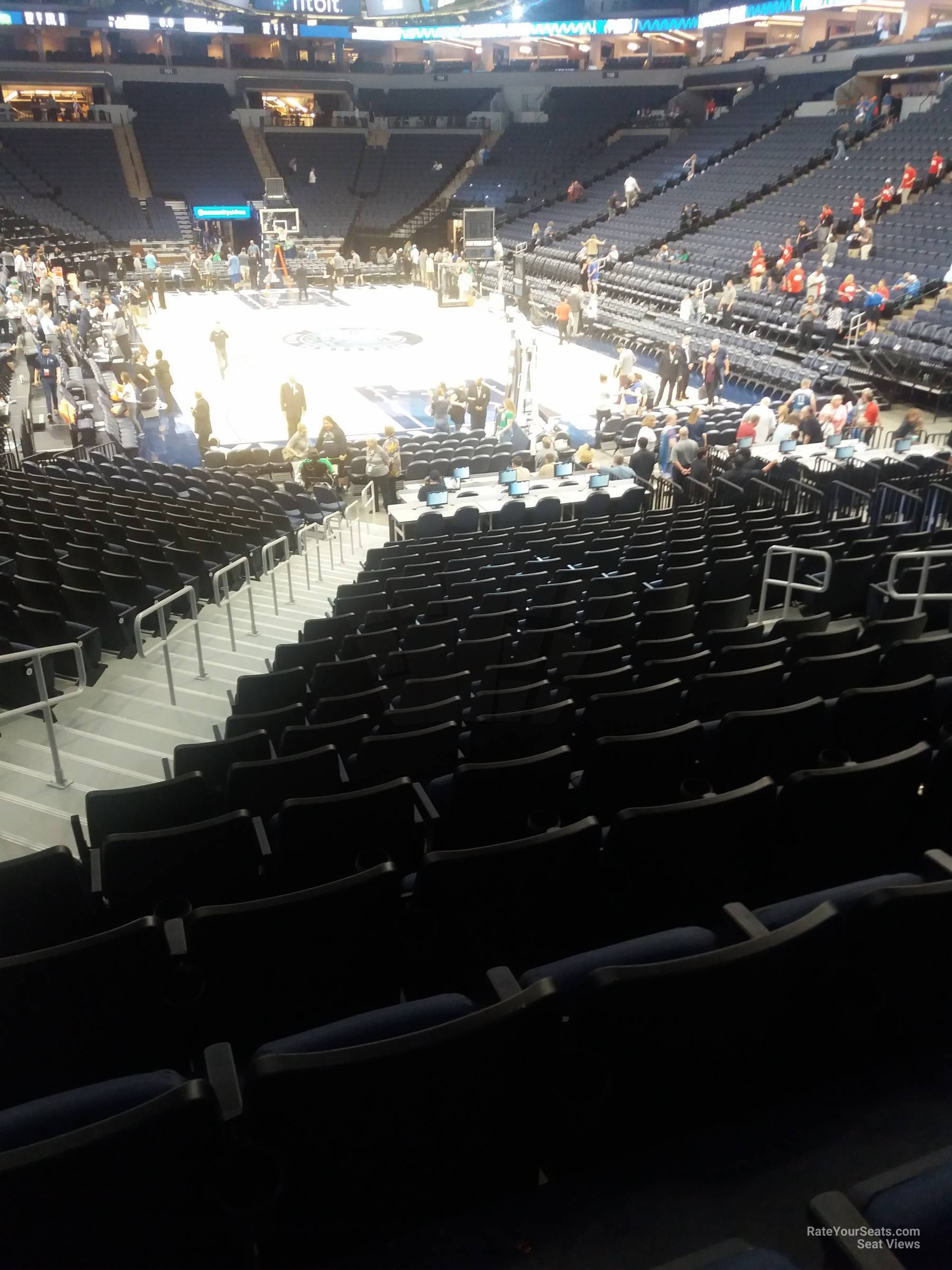 Target Center Section 122 Minnesota Timberwolves Rateyourseats Com