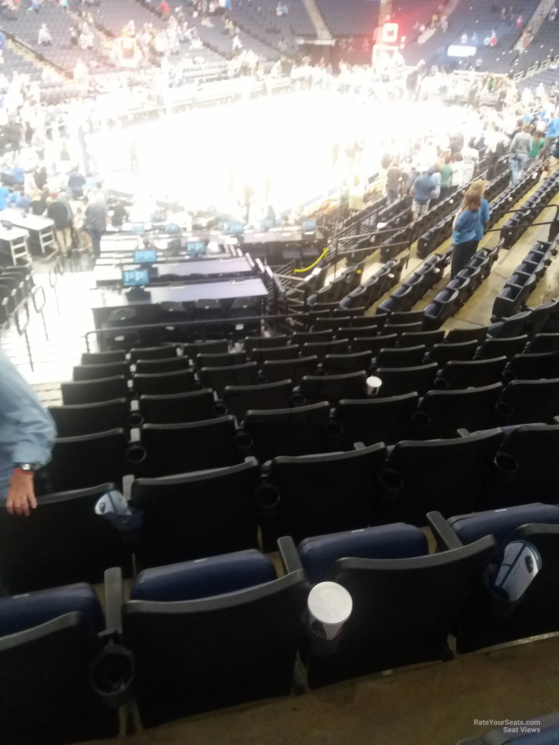 Target Center Section 136 Minnesota Timberwolves Rateyourseats Com