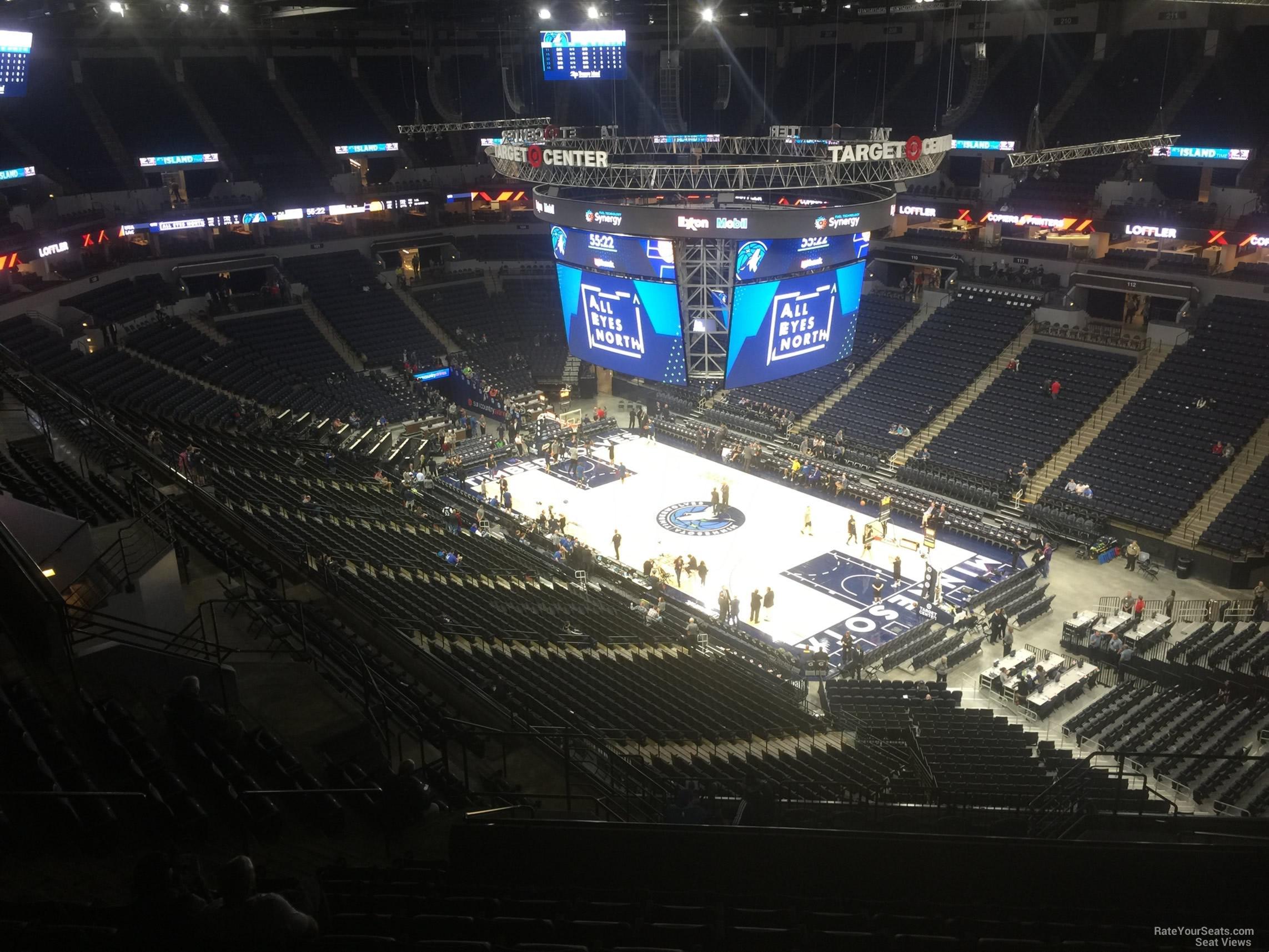 Target Center Section 226 Minnesota Timberwolves Rateyourseats Com