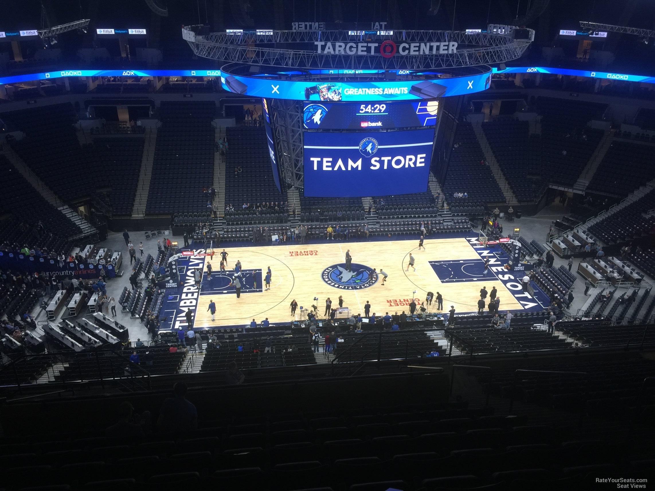 Target Center Section 232 Minnesota Timberwolves Rateyourseats Com