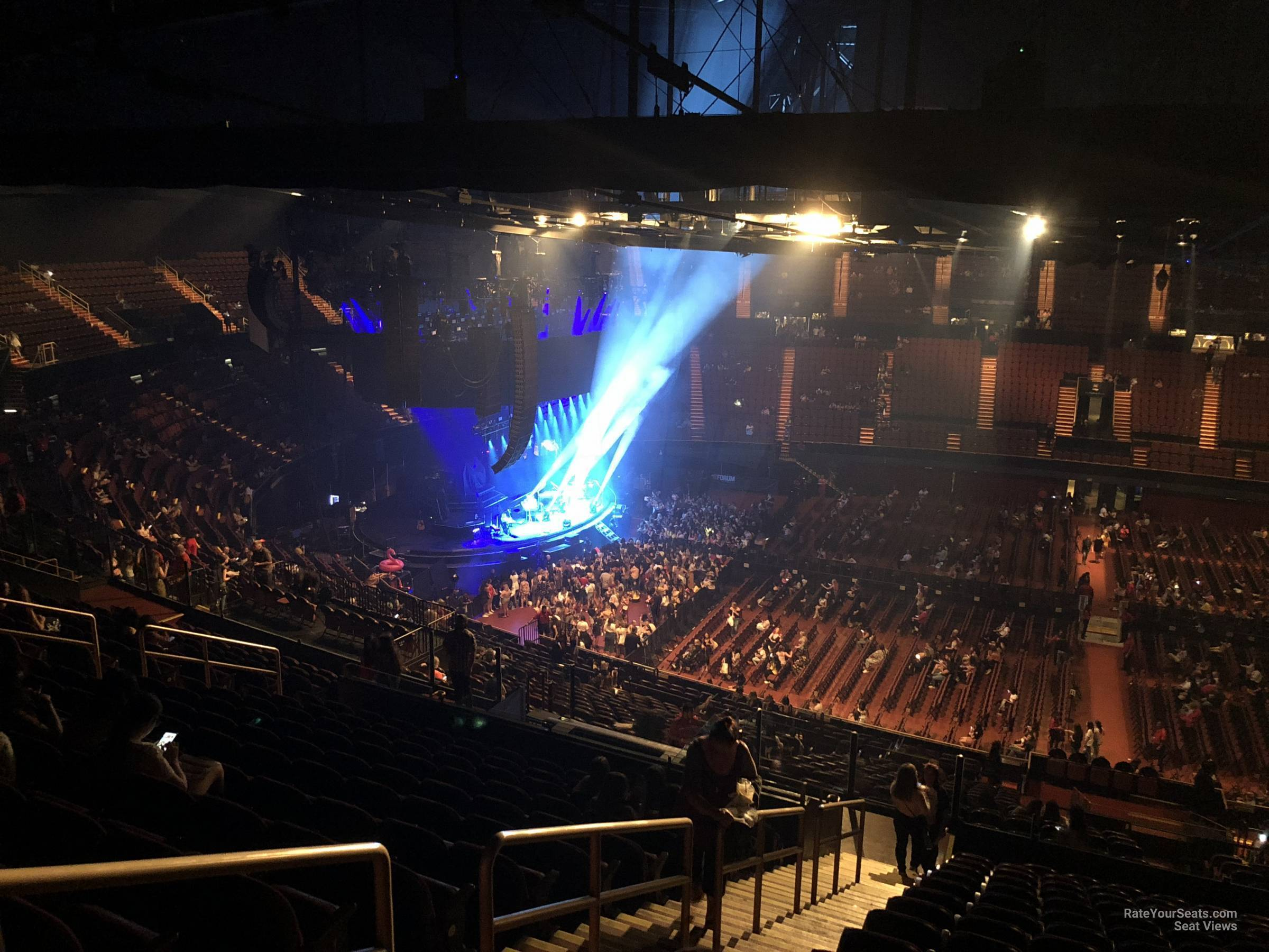 Section 227 At The Forum Rateyourseats Com
