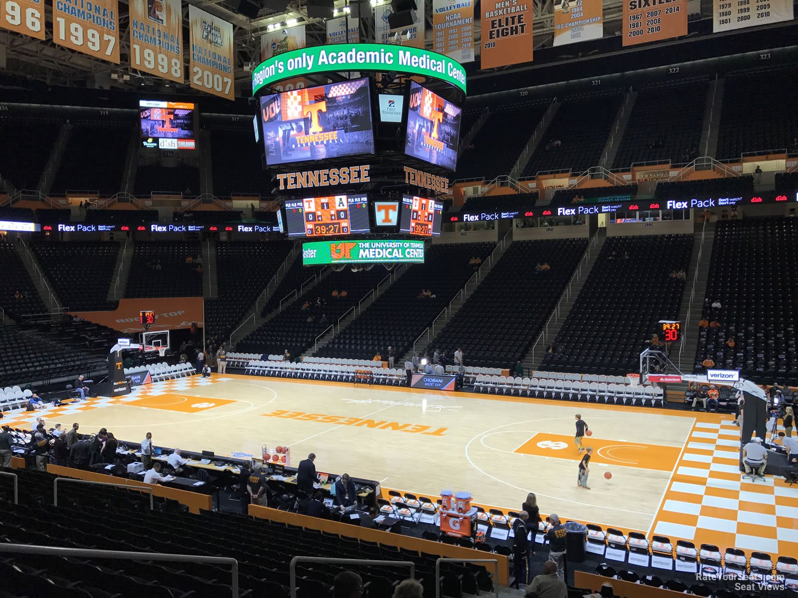 Section 103 at Thompson-Boling Arena - RateYourSeats.com