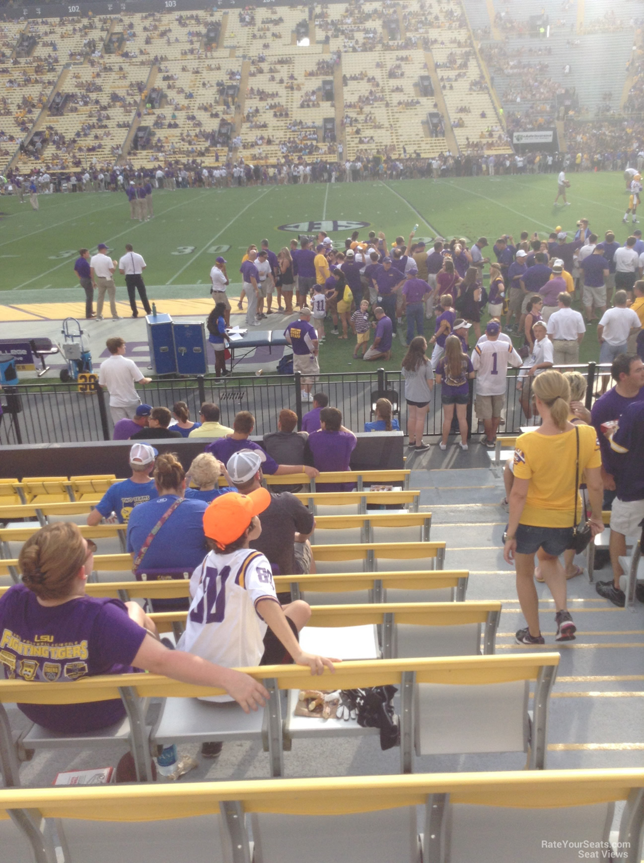 Seat View for Tiger Stadium Section 302, Row 12