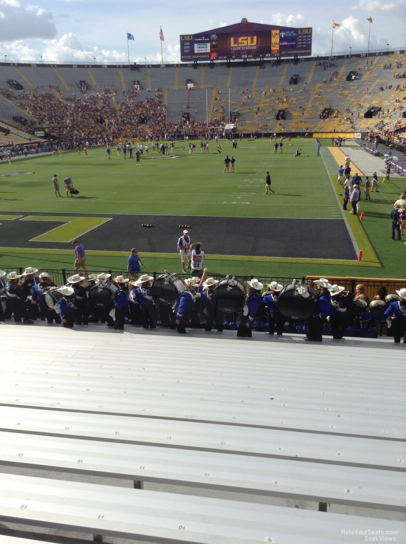 Tiger Stadium Section 404 Rateyourseats Com