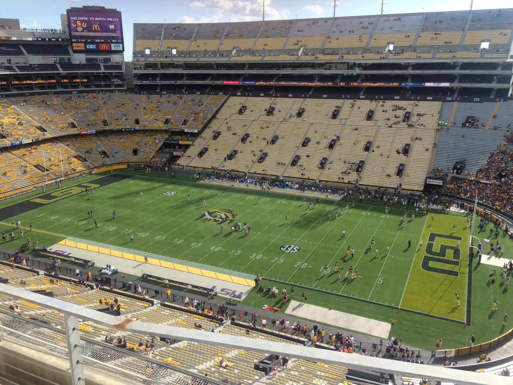 Seat View for Tiger Stadium Section 530