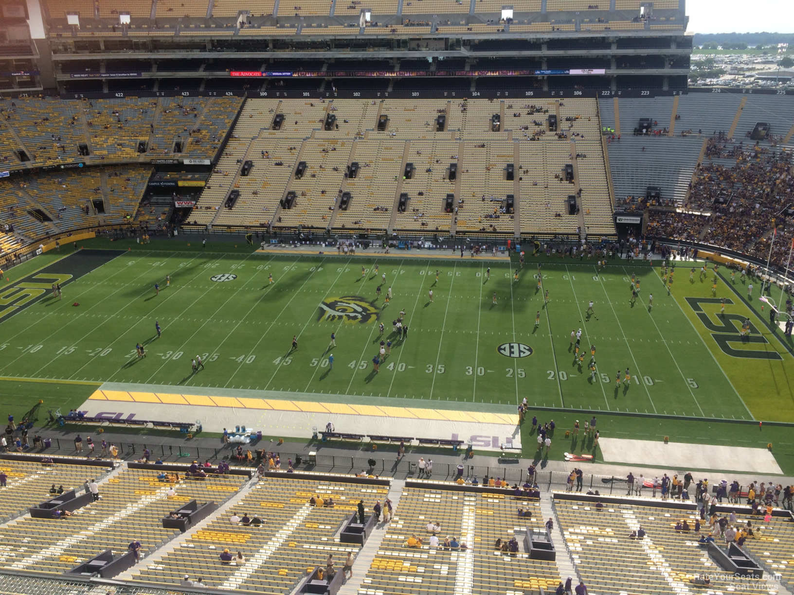 Seat View for Tiger Stadium Section 534