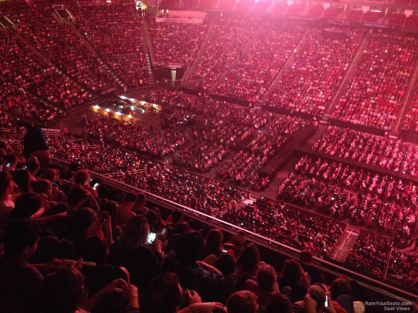 Toyota Center Section 408 Concert Seating Rateyourseats Com