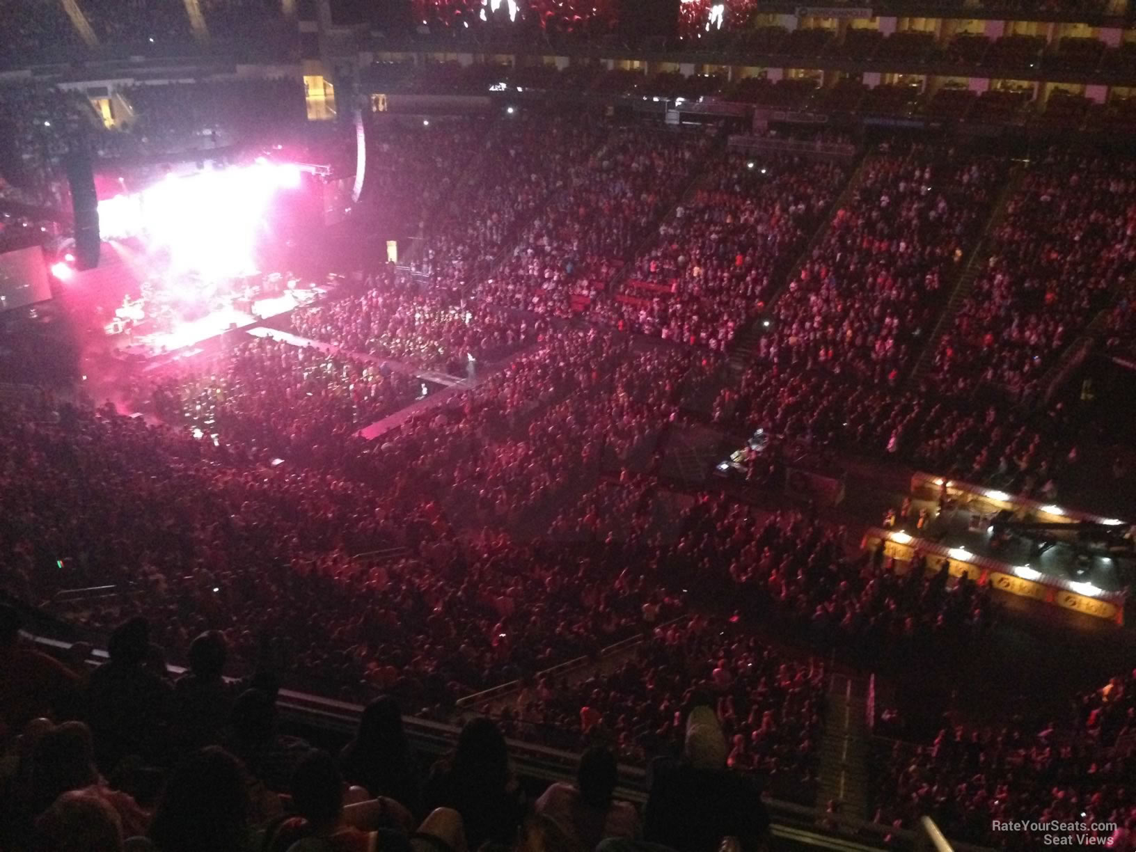 Toyota Center Section 423 Concert Seating Rateyourseats Com