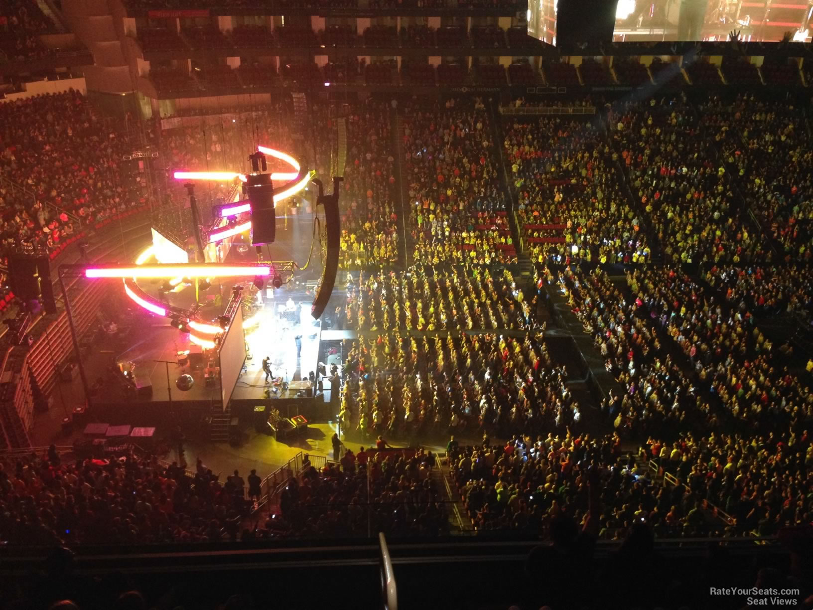 Toyota Center Section 429 Concert Seating Rateyourseats Com