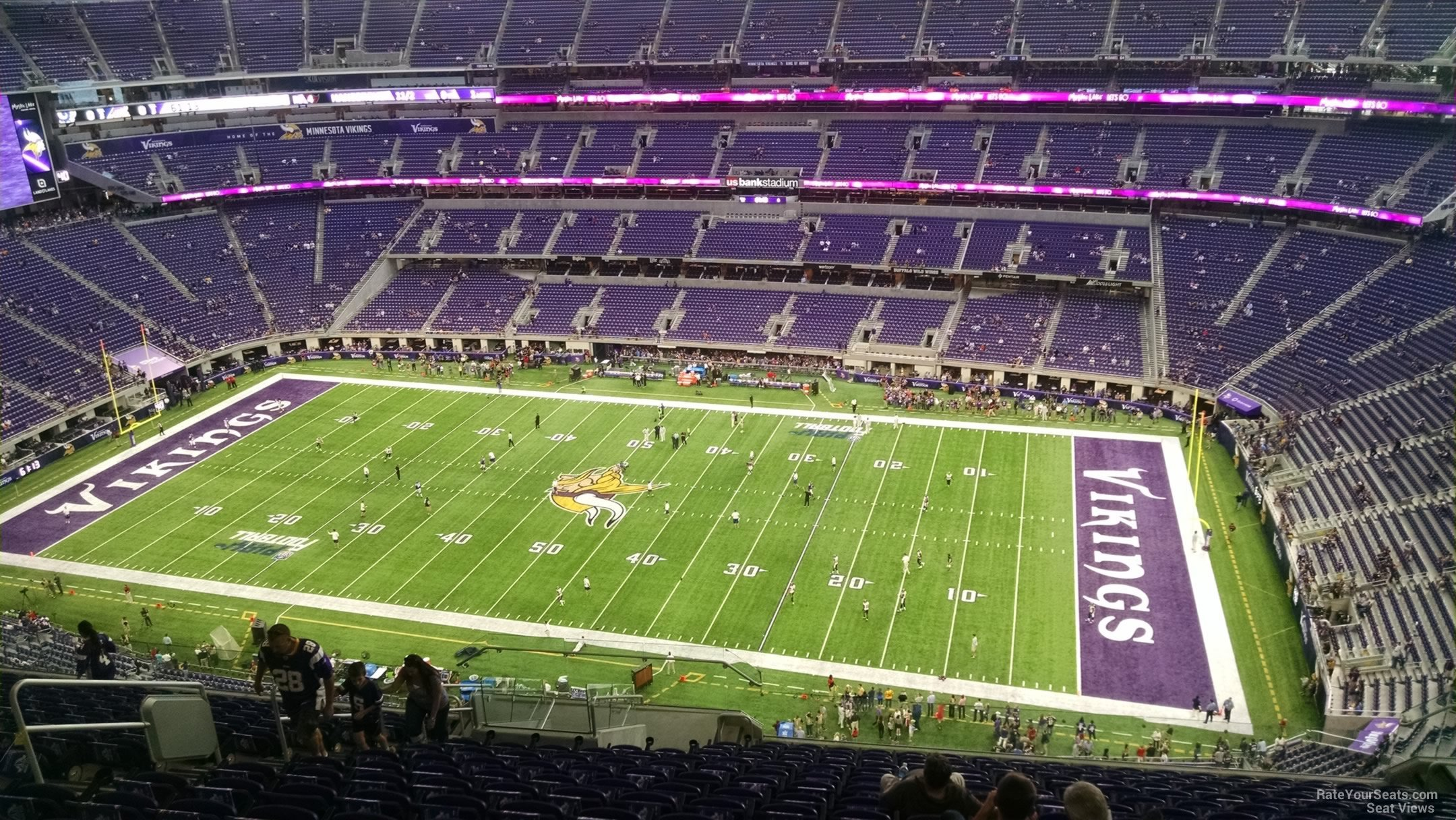 Us Bank Seating Chart Vikings