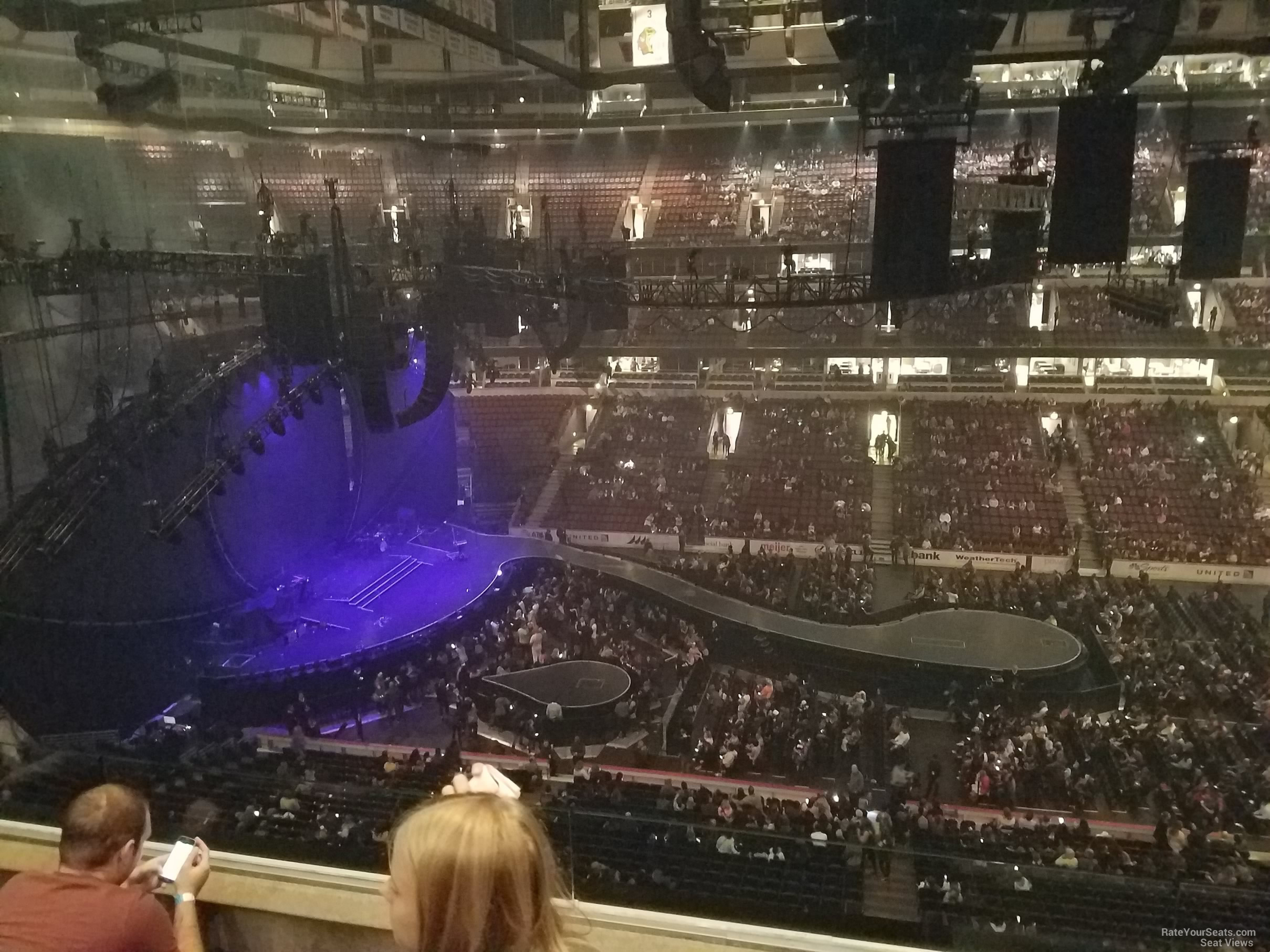 United Center Section 318 Concert Seating - RateYourSeats.com