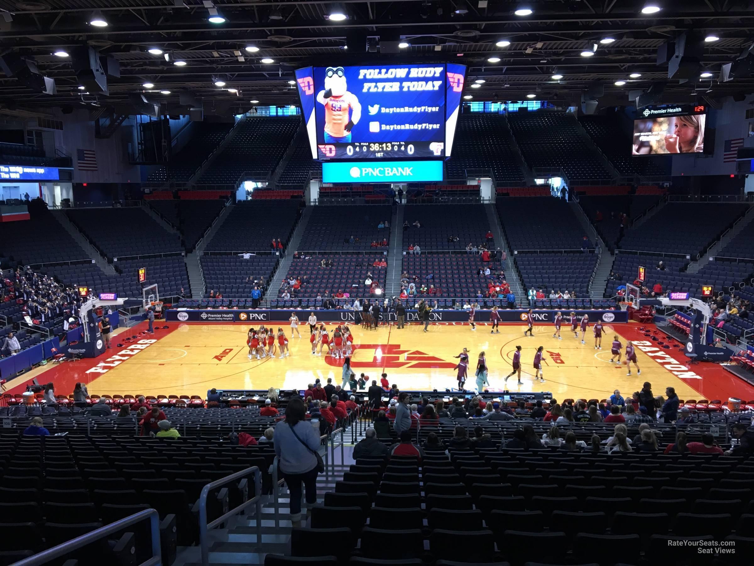 University Of Dayton Arena Section 304 Rateyourseatscom