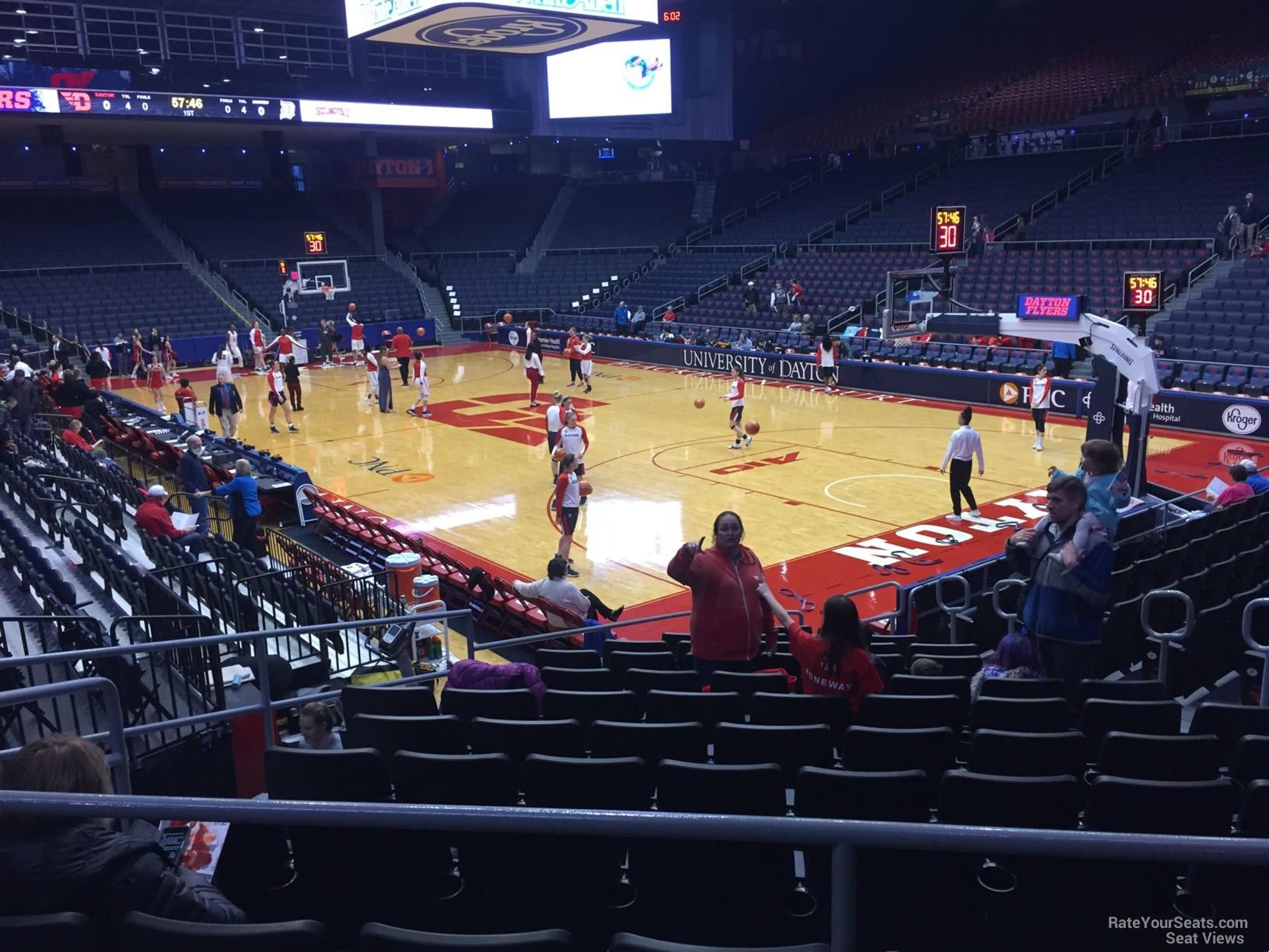 University Of Dayton Arena Section 202 Rateyourseatscom