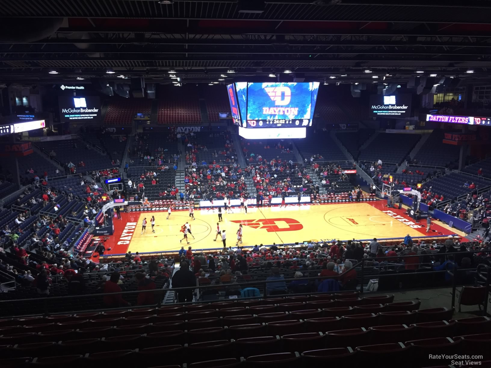 University Of Dayton Arena Section 312 Rateyourseatscom