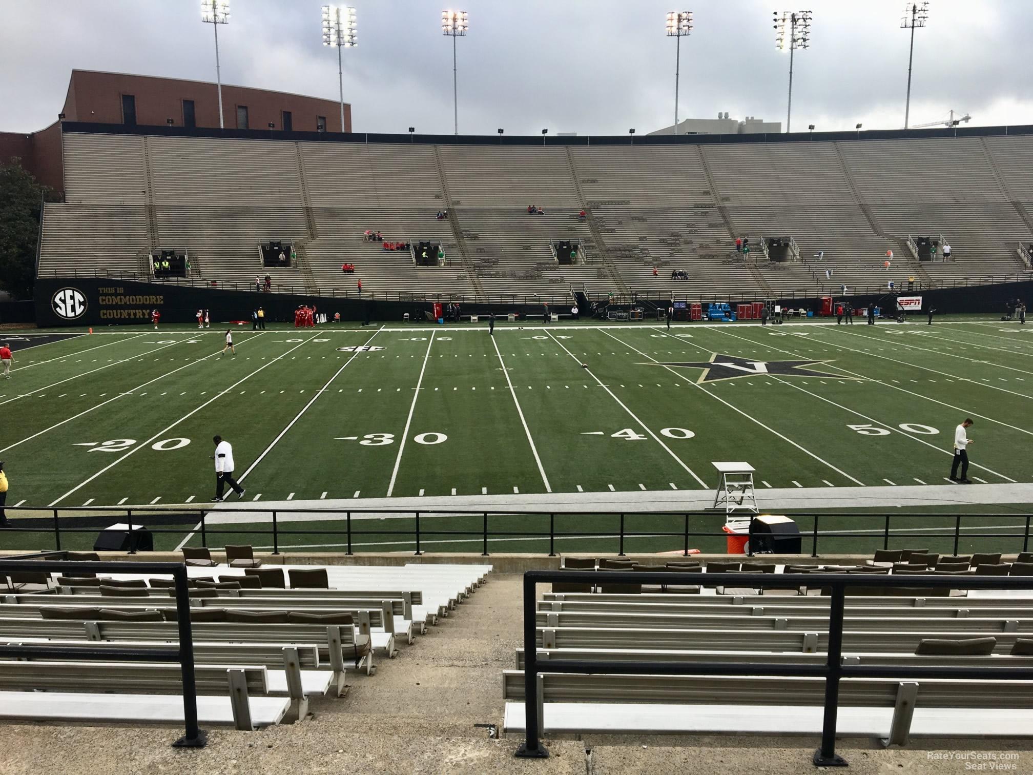 Vanderbilt Stadium Section C Rateyourseatscom